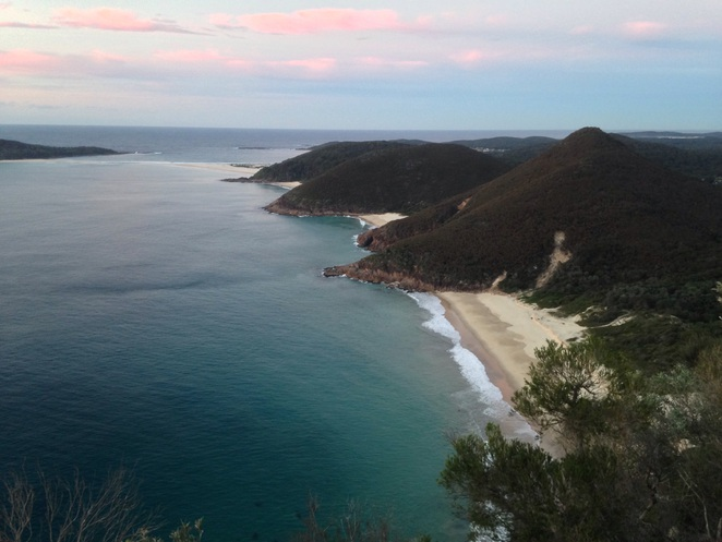 Zenith Beach. Mount Tomaree. Port Stephens