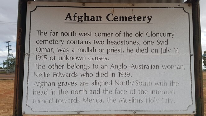 Afghan cemetery in Cloncurry, Cloncurry, Queensland, Afghan, cemetery, outback