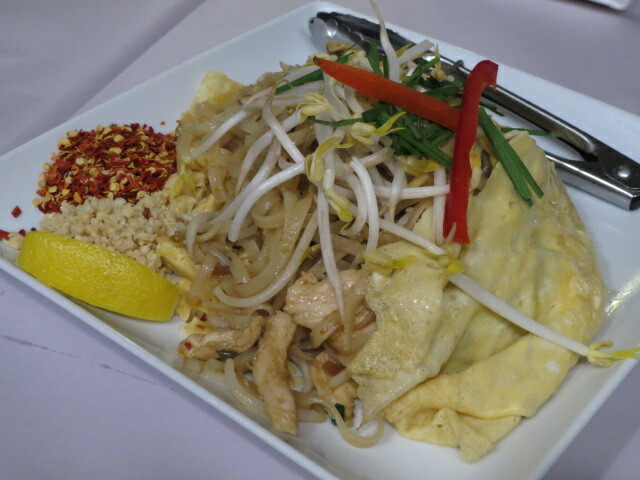 Angel Thai, Pad Thai in Egg Wrap, Adelaide