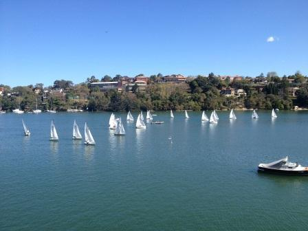 how to get from sydney rowing club to birkenhead
