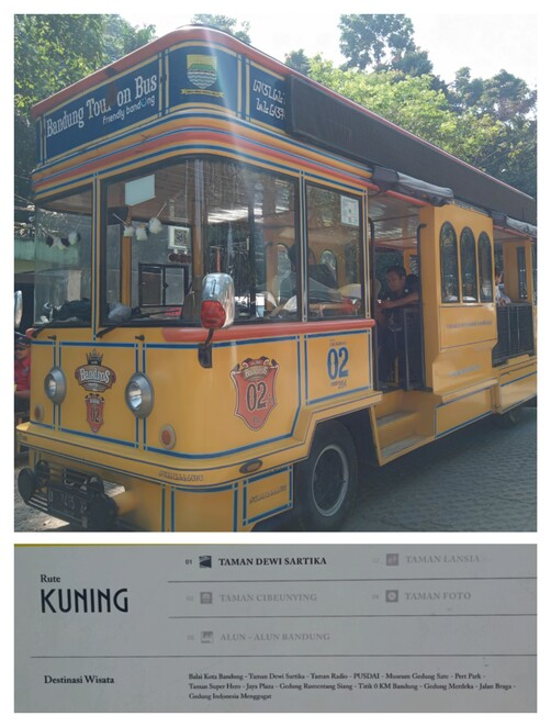 Bandung, City, Route, Tour, Bus, Tram, Bandros, Sightseeing