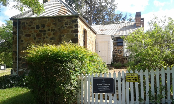 blundells cottage, canberra, ACT, historical, kings park, walks, memorials, national carillon,