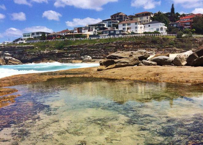 bondi to coogee, coastal, walk, tamarama, rock pool
