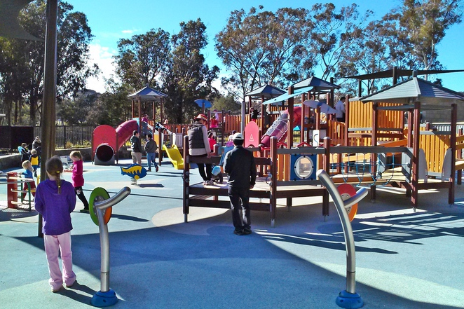 boundless playground, canberra, lake burley griffin, ACT, best picnic spots, family,