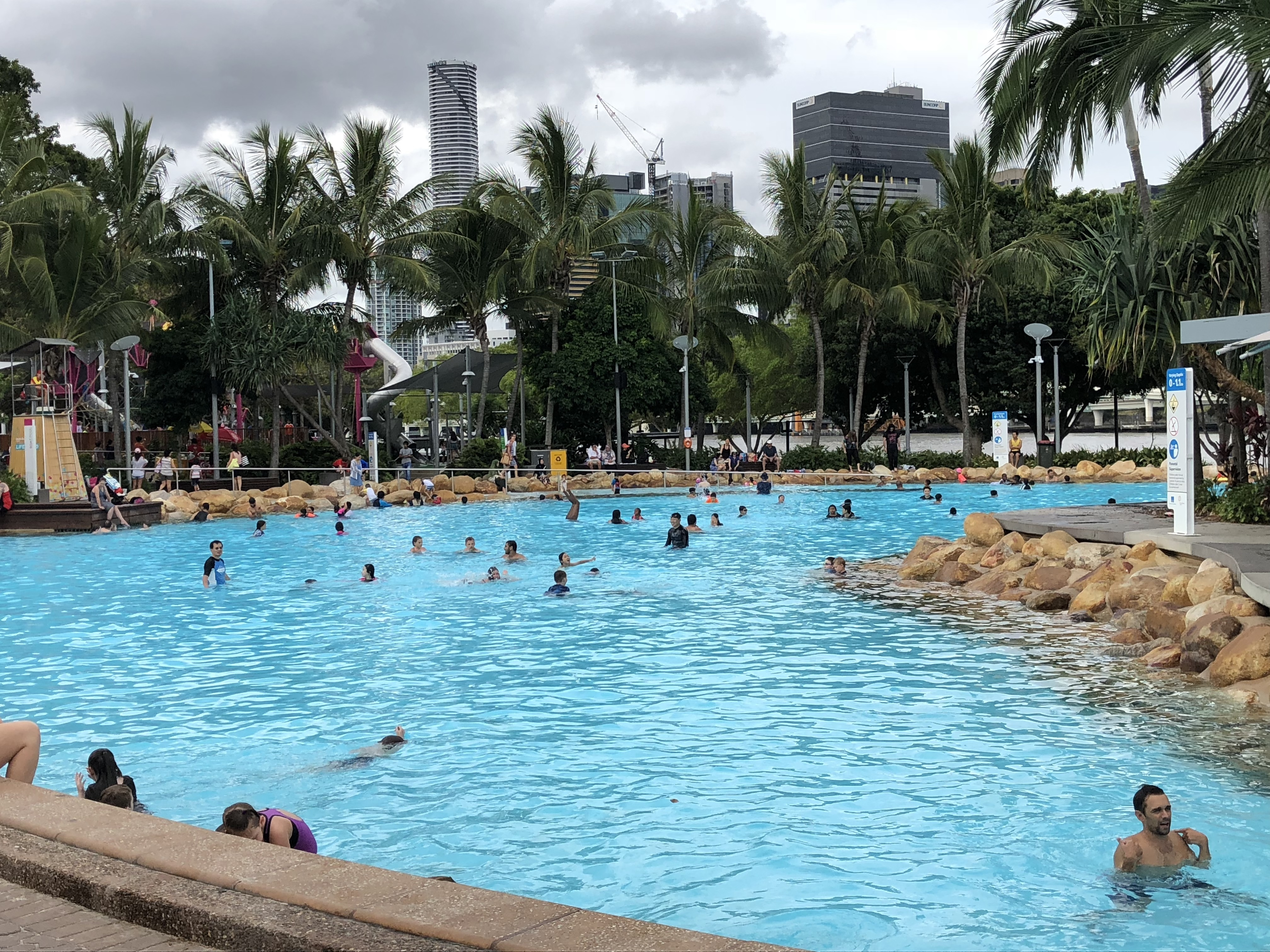 Streets beach south bank brisbane for Pool show qld