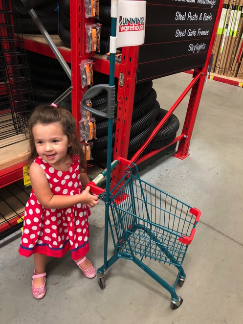 Bunnings, Bunnings Warehouse, child-friendly shopping, shops with cafes, shops with playgrounds, kids at Bunnings, Kids' workshops at Bunnings