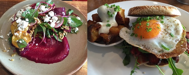 Cantina,lunch,beetroot