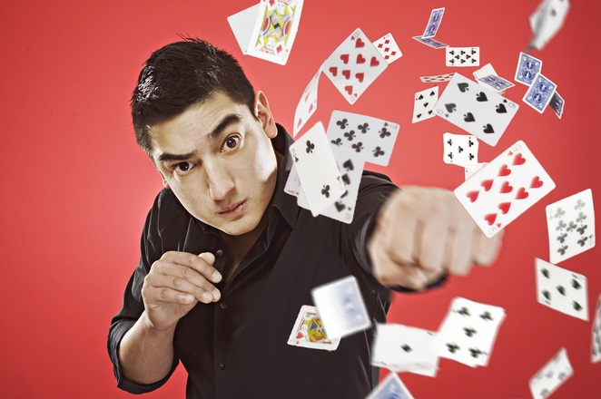 Card Ninja - Card trick and comedy show for Adelaide Fringe 2019 in the Garden of Unearthly Delights