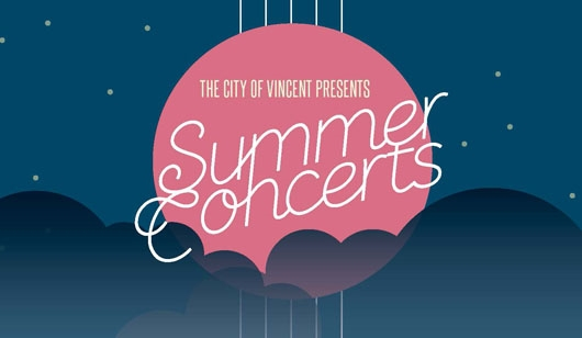 city of vincent summer concert series, free concerts perth, city of vincent concerts, city of vincent free concerts