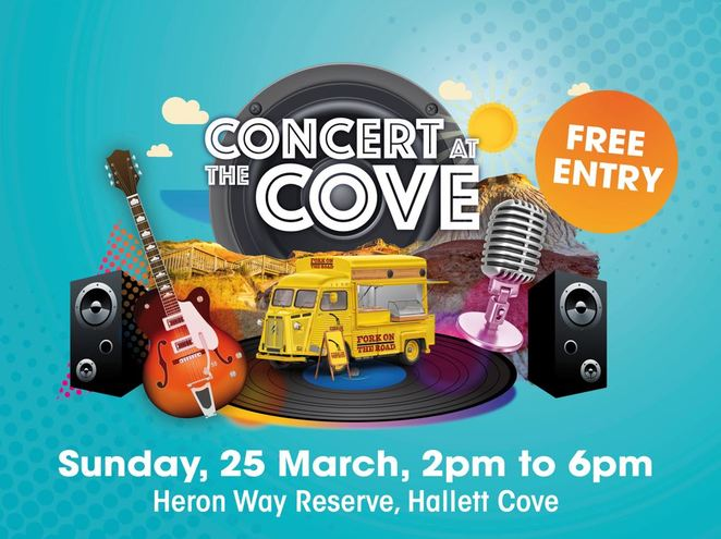concert at the cove, hallett cove, city of marion
