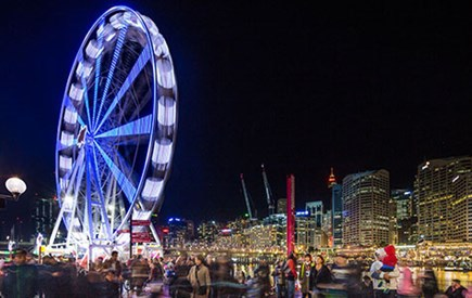 Cool Yule Darling Harbour, Cool Yule 2016, Cool Yule School Holiday Program, School Holiday Activities