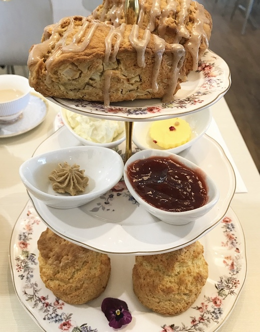 Devonshire tea, adore tea, gold creek, Canberra, tea house, scones, cafe