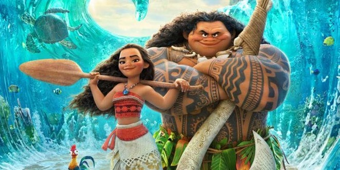 Dive-In Cinema, Disney's Moana