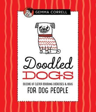Doodled Dogs, doodling for dog people, drawing books, how to draw books, doodling, books for dog people