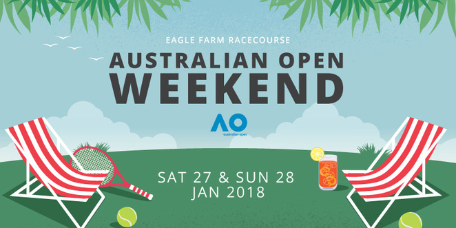eagle farm racecourse, big screen onn the green australian open tennis, australian open tennis big screen, where to watch australian open in brisbane, australian open big screen brisbane