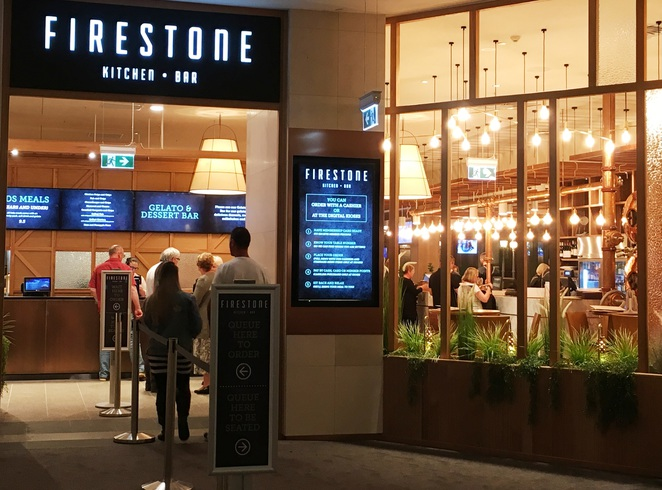 Firestone Kitchen Bar Revesby Workers Club