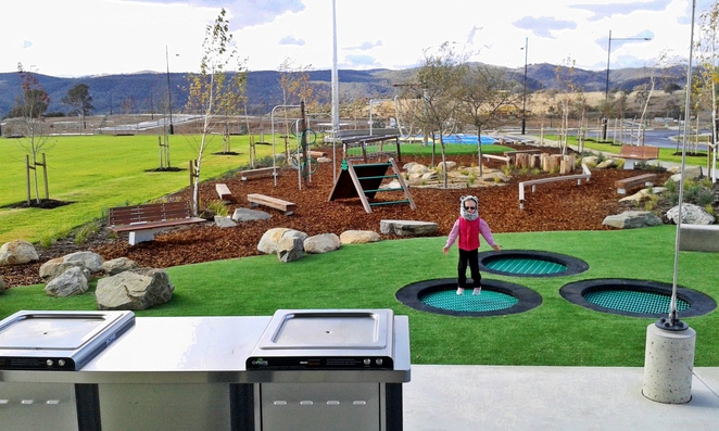 googong, duncan fields, playgrounds, queanbeyan, canberra, NSW, ACT, parks, new playgrounds