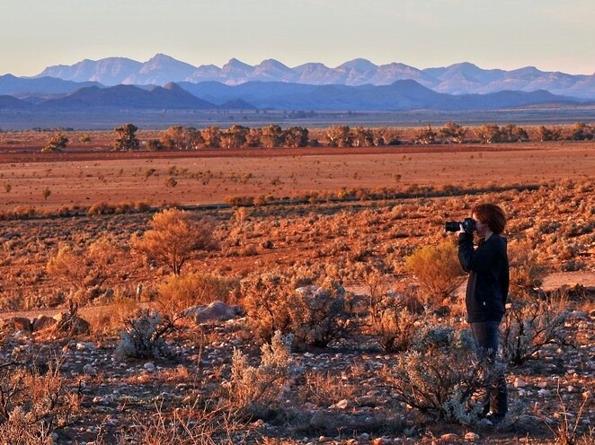 Hawker, Flinders Ranges, South Australia, Things to Do, railway, sunset, photographer
