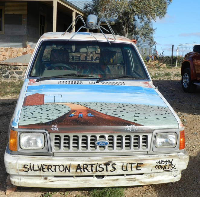 Justin Cowley, Silverton, Artist, Gallery, Outback