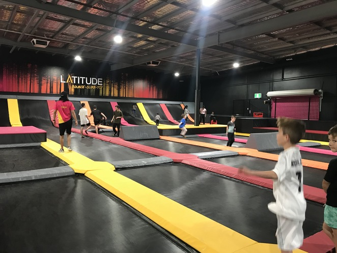 latitiude, trampoline parks, things to do in joondalup, perth trampolines