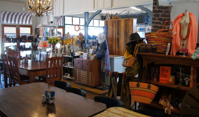 Gift shop and cafe in the town of Forest Hill, Lockyer Valley