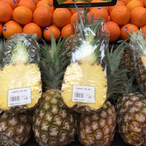 Lovely,fresh, pineapples,at,Fresh,Provisions