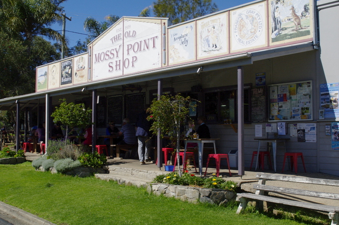 Mossy Point, The Muffin Shop
