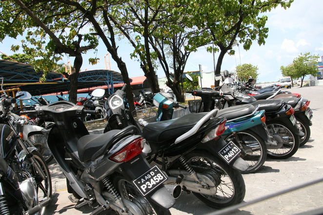 motor bikes maldives male