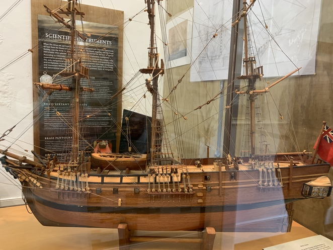 Norfolk Island Museums, The Pier Store, the former Commissariat building, The HMS Sirius Museum, The Commissariat Store, N 10 Quality Row, Sirius Wreck, Captain Hunter, the ship Supply,