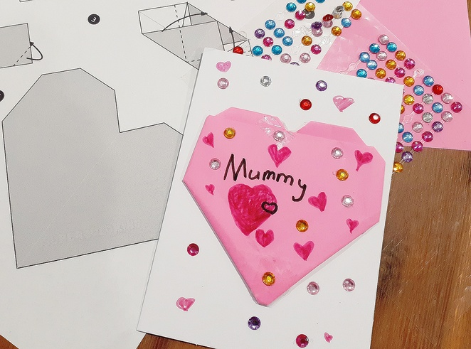 origami, mothers day cards, DIY, cards, rainy day, kids, crafts, wrapping paper, paer craft, australia, things to do, kids craft, australian crafts, school holidays,