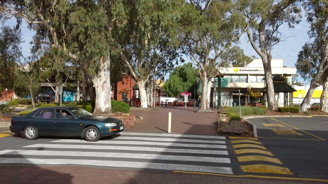 Parabanks Shopping Centre, Salisbury, Historic Gum Trees