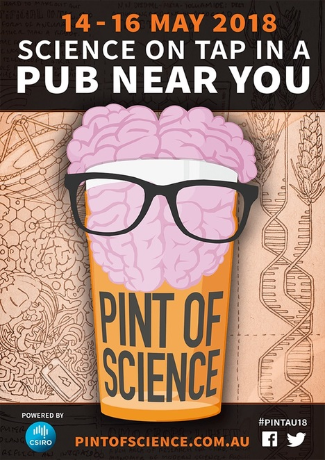pint of science, science in the pub, science talk in a pub, science festival brisbane, pint of science festival, unusual events brisbane, science talks brisbane, science talks gold coast