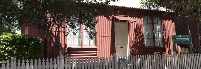Portable Iron Houses, open house Melbourne, south Melbourne