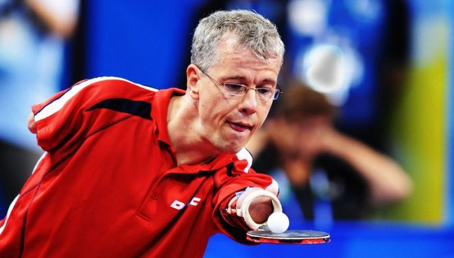 Rainer Schmidt, paralympian, paralympics, table tennis, ITTC