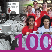 Red Cross, celebrating 100 years of service