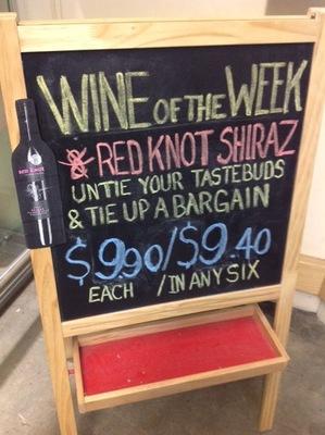 Red Knot Shiraz on Sale at Dan Murphy's