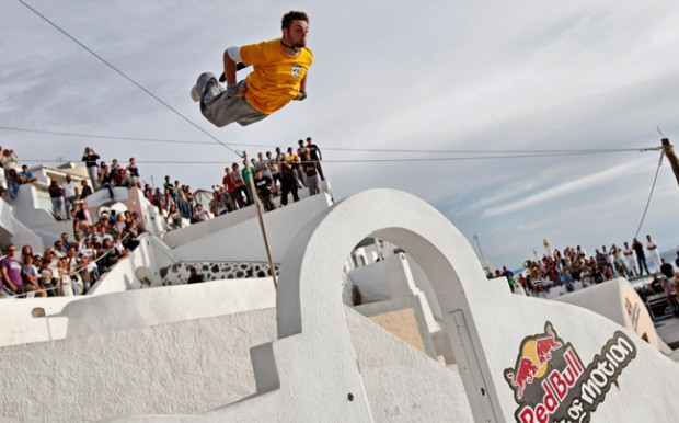 Redbull Art of Motion Santorini