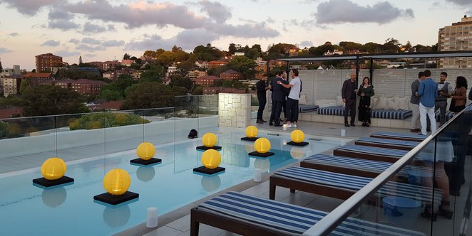 Rooftop, Rooftop pool, InterContinental Double Bay