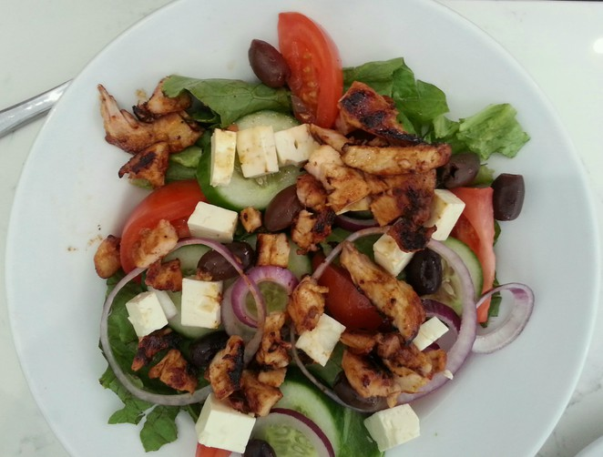 salad, healthy, cafe, stocklands, wetherill park