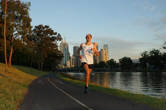 Sean Bell - Personal Trainer - Runs 50 marathons in 50 days for mate Joey