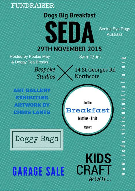SEDA Dogs Big Breakfast