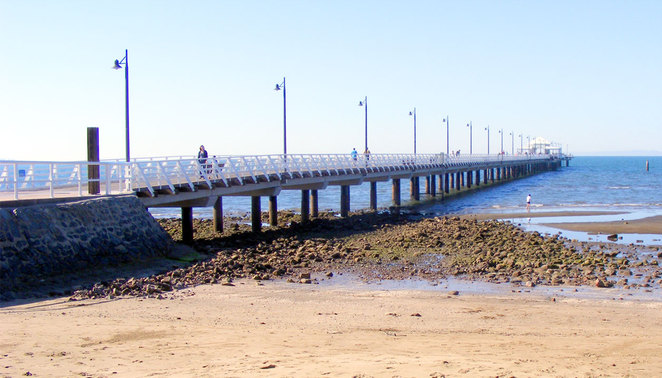 The new Shorncliffe Pier