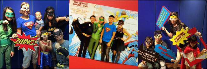Singapore Philatelic Museum DC Comics Super Heroes Open House