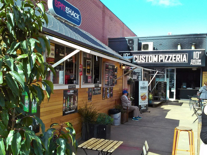 spit shack, mr papa, 10 inch custom pizzeria, the hamlet, lonsdale street, canberra, ACT