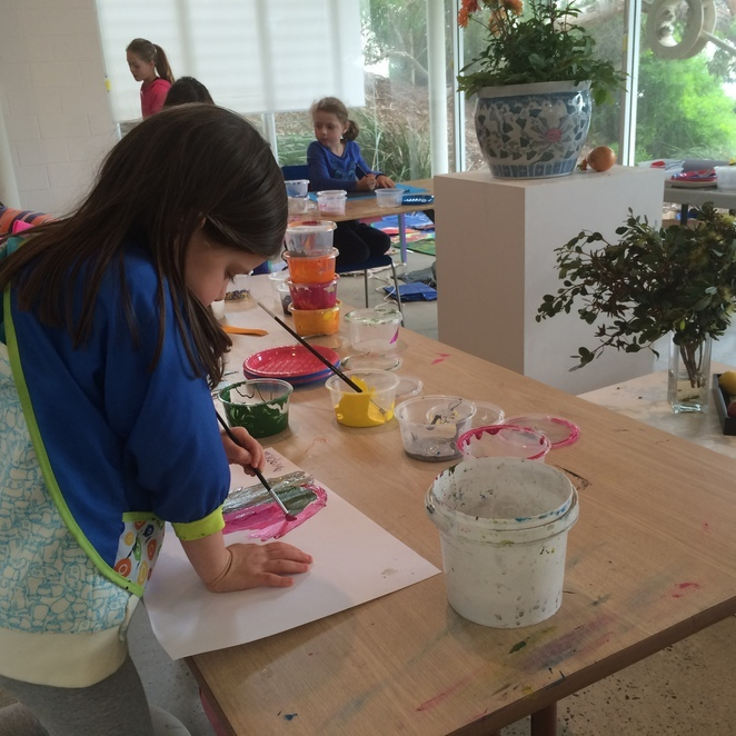 Sponge Kids Art Hub at Signal Point Gallery