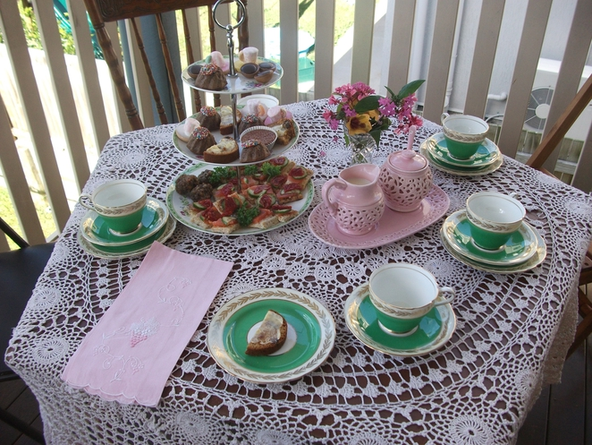 tea party, china, high tea