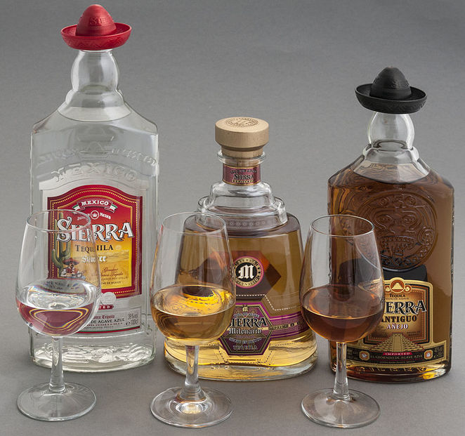 tequila, mescal, cocktails