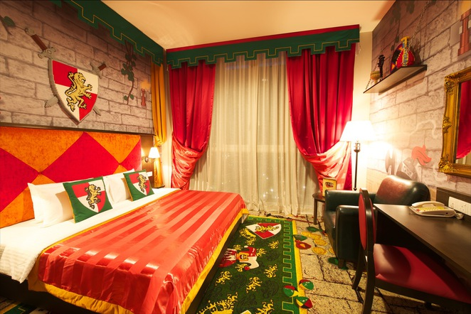Themed rooms at LEGOLAND Hotel