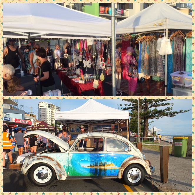 Twilight Markets Caloundra, Easter holidays, Friday nights, 30 March, 6 April, 13 April, fun, food, festivities, Bulcock Beach Esplanade, swim, sunsets, Pumicestone Passage, Downtown Caloundra Street Art Trail, treasure hunting, street artworks, market stalls, street performers, activities for children, Juzzie Smith, Snow in Fernie, Dave Stygall, Jake Hill, Sandbar Cafe and Kiosk, to do list
