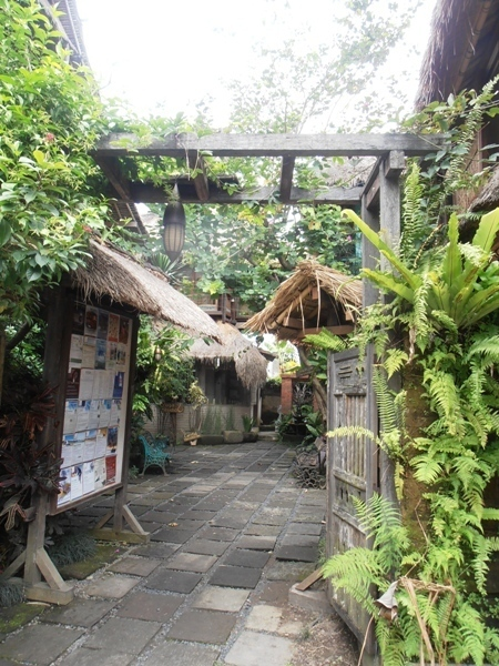 The Yoga Barn is a tranquil spiritual oasis after the chaos and commercialism of Kuta.